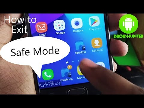 How To Turn Off Safe Mode On Android-Samsung Safe Mode Turn Off-Exit Safe Mode On Samsung