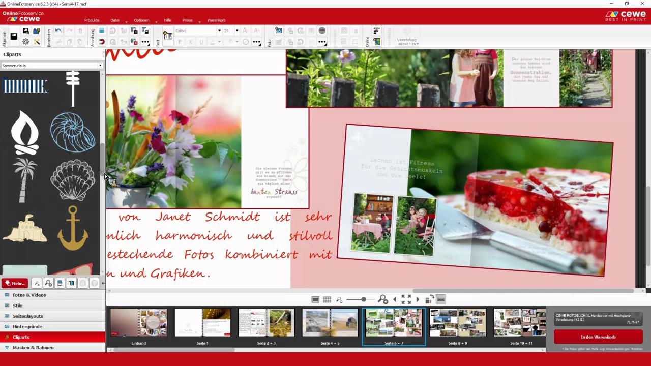 Cewe Fotobuch Webinar Teil 4 Praktische Gestaltungstipps 2017 Youtube