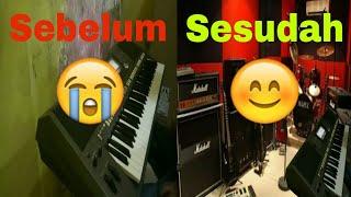 Cara Bermain Keyboard Di Studio Musik Impian