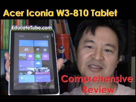 Acer Iconia W3 810 Comprehensive Review Best Tablet of the Year 2013 The Ultimate Geek Tablet Guide