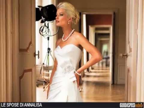62c1aaa44001 Le Spose di Annalisa Abiti da sposa Bologna - YouTube
