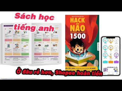 sách hack não 1500 từ vựng tiếng anh tiki - Sách  học tiếng anh  Hack Não 1500 giá rẻ nhất Shopee , Lazada, Tiki và Sendo