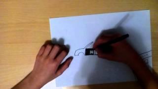 Урок: рисунок minecraft в будущем
