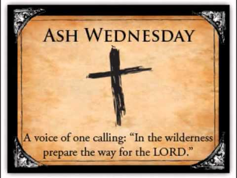 Ash Wednesday - March 9, 2011