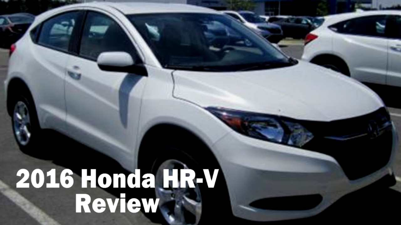 2016 honda hr v 2wd lx review test drive youtube. Black Bedroom Furniture Sets. Home Design Ideas