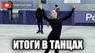 Танцы на льду Контрольные прокаты юниоров по Фигурному Катанию 2020