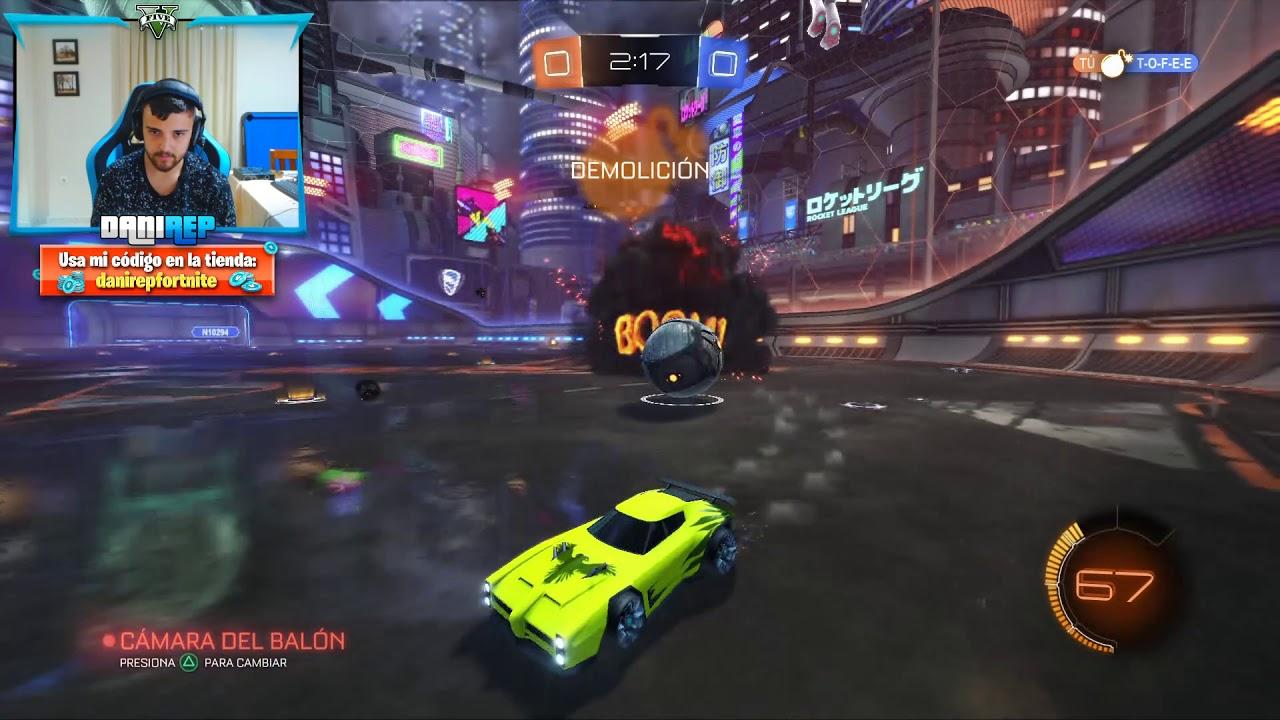 SE RIEN DE NOSOTROS! - Rocket League PS4