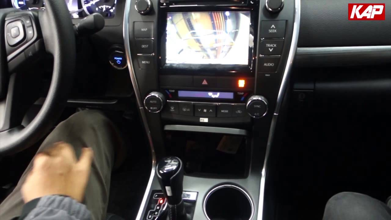 Toyota camry 2016 interface for navigation