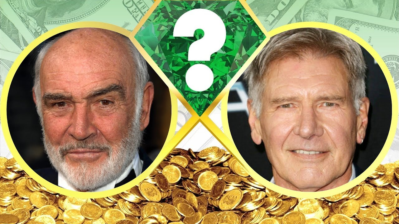 WHO'S RICHER? - Sean Connery or Harrison Ford? - Net Worth Revealed! (2017)