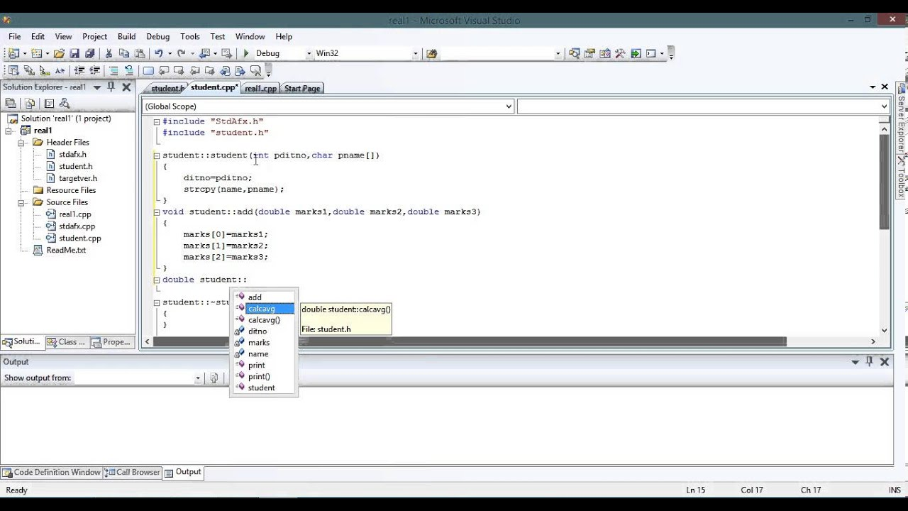 object oriented programming in visual studio eercise  object oriented programming in visual studio eercise 1