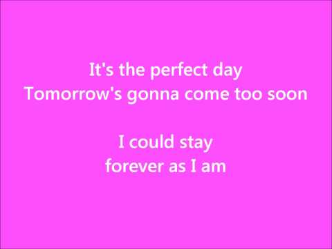 Perfect Day  Hoku Legally Blonde Soundtrack  with Lyrics