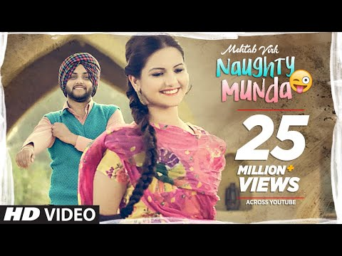 Mehtab Virk: Naughty Munda | Desi Routz | Latest Punjabi Songs 2017 | T-Series Apna Punjaba