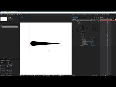After Effects Tapered Stroke: No plugins, no expressions!