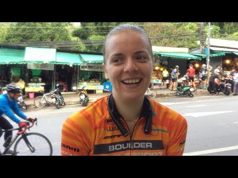 The fastest lady up Doi Suthep interview