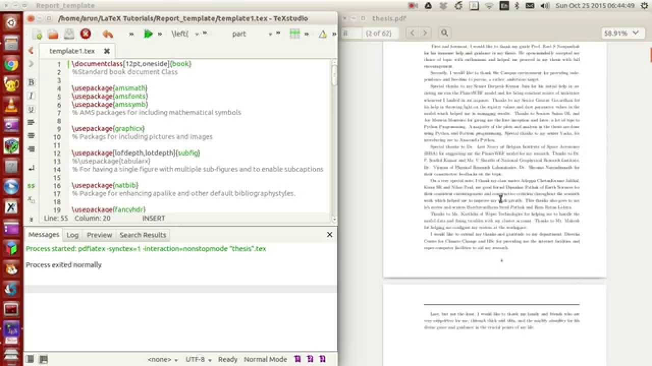 Latex programming 053 making your own thesisreport template latex programming 053 making your own thesisreport template part 1 of 4 maxwellsz