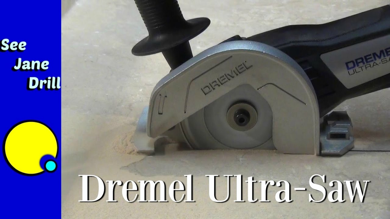 How to Use a Dremel Ultra Saw