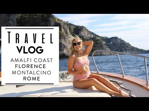 Italy Travel Vlog | Amalfi Coast Private Yacht Tour | Posita