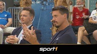 """Klartext! """"Typ"""" Sandro Wagner mit Sprüchefeuerwerk   SPORT1 - CHECK24 Doppelpass"""
