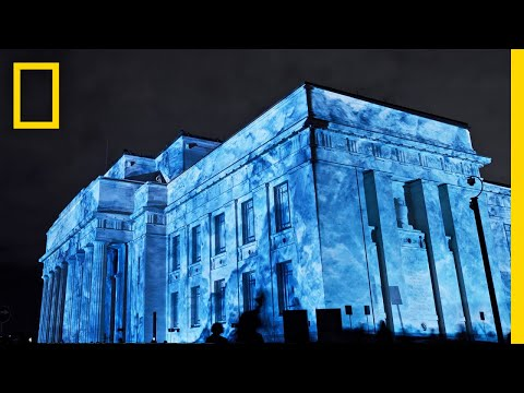 Watch This Guy Transform Huge Buildings Into Icebergs   Short Film Showcase