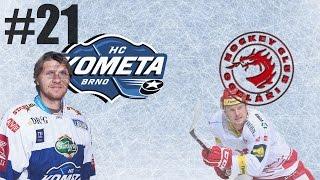 NHL 17 | HC Kometa Brno-HC Oceláři Třinec | PLAY-OFF | PART 21 | XBOX ONE | CZ