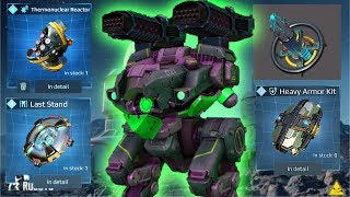Executioner Bulwark With 4 Best Modules Is Unstoppable | Overpowering Enemies | War Robots