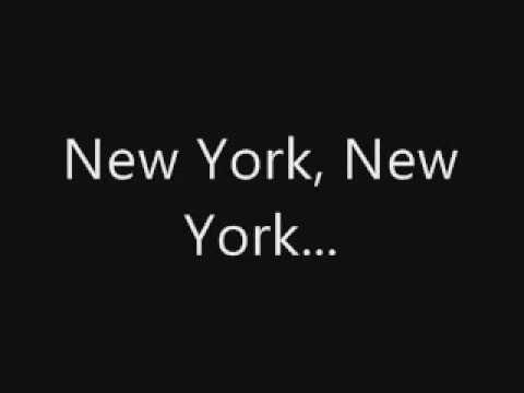 Frank Sinatra New York,New York Lyrics