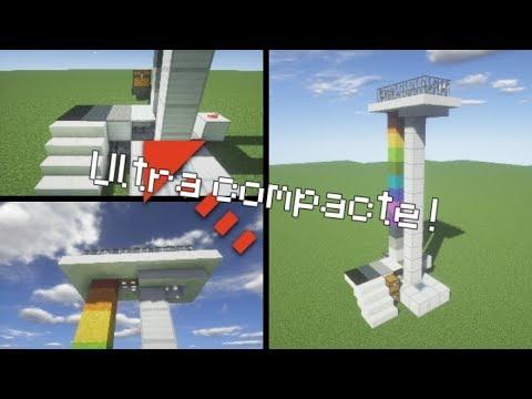 comment faire un ascenseur compact minecraft youtube. Black Bedroom Furniture Sets. Home Design Ideas