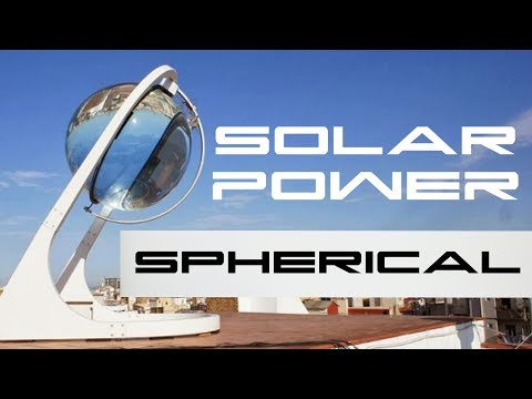 Spherical Solar Energy Generator Rawlemon - BTF