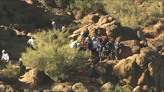 Hiker Airlifted to Safety from Arizona Mountain