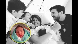 lionel messi his 3rd child ciro congratulations to lionel messi antonella roccuzzo