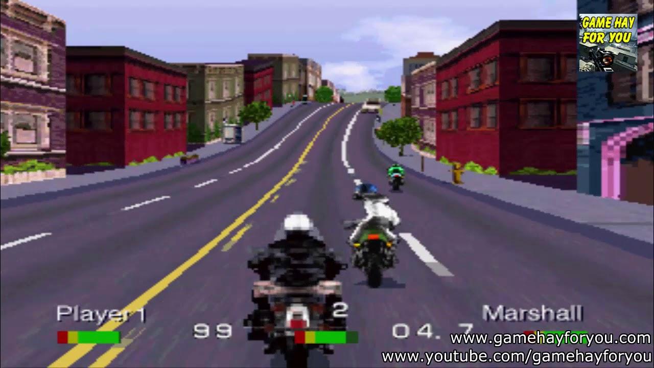 Play game Road Rash Playstation 1 | Tải và chơi game Đua xe đánh nhau trên máy tính