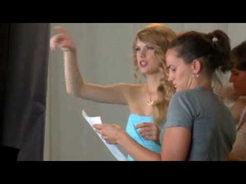 """Taylor Swift's Behind-The-Scenes Exclusive Interview  For Music Video """"Mine"""""""