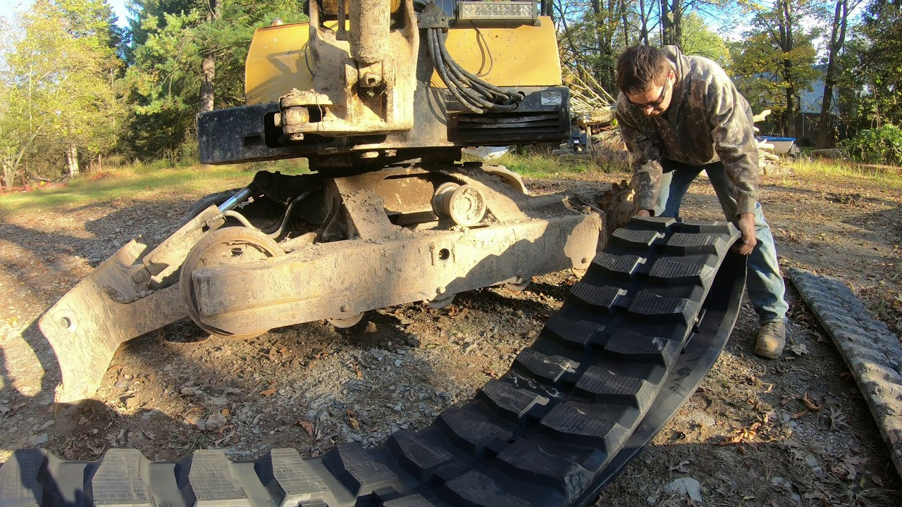 how-to-install-an-excavator-track