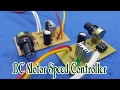 How To Make DC Motor Speed Controller