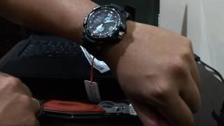 1# Unboxing AliExpress - SANDA Wristwatch LED Digital Watch Men Watches  (Brasil)