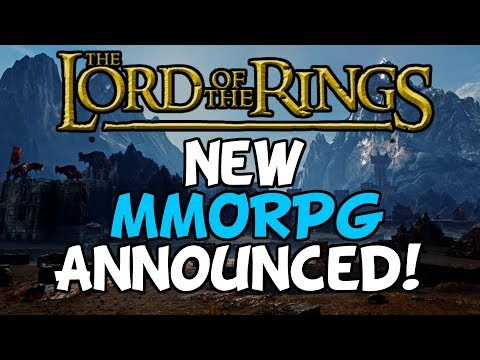 New Lord Of The Rings MMORPG Announced