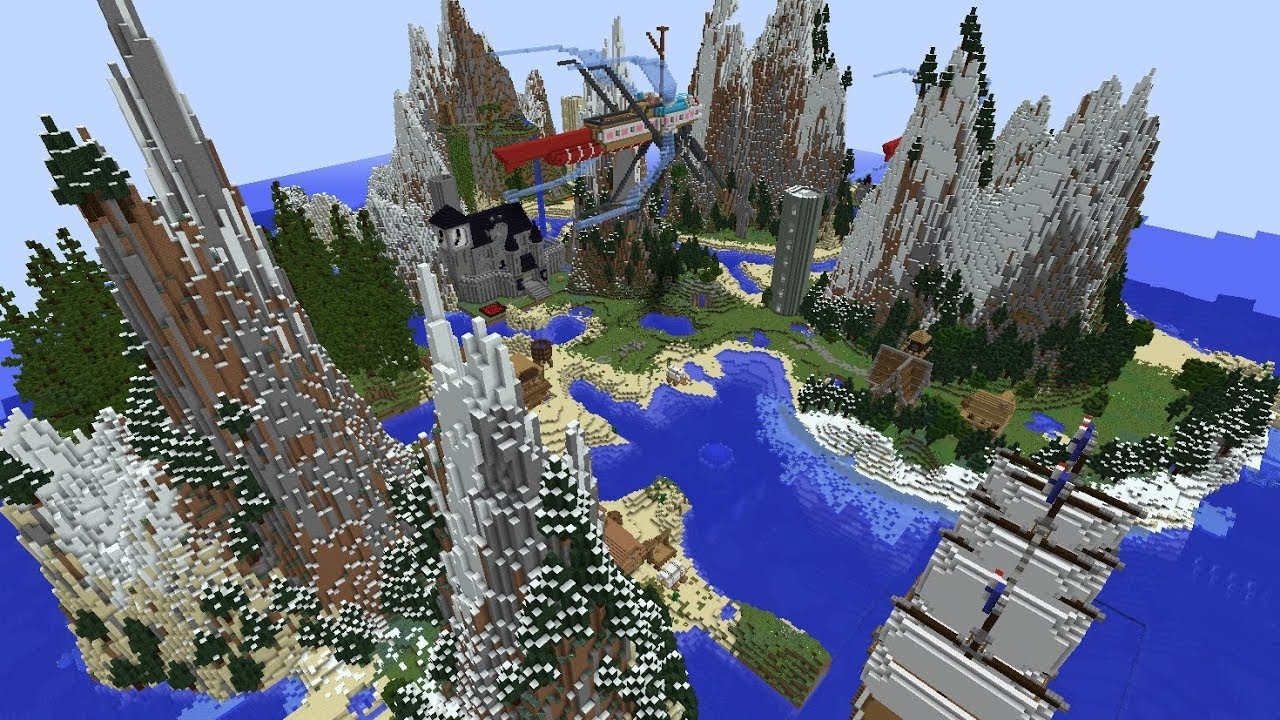 Survival Island Extreme (1): Minecraft Map - YouTube