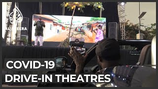 Drive-in theatres see revival amid lockdowns