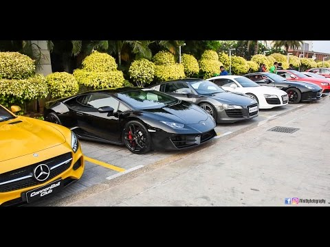 BEST SUPER CAR MEET IN HYDERABAD!!