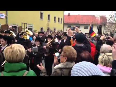 Empfang Von Severin Freund In Breitenberg Youtube