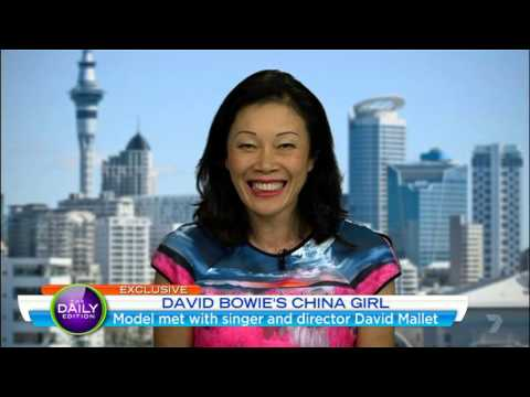 """Geeling Ching - David Bowie's """"China Girl"""" - Daily Edition interview 2016"""
