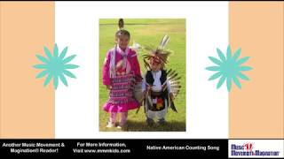 Native American Counting Song - Sing Along, Read Along, Count to 20