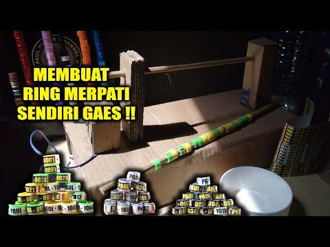 MEMBUAT RING MERATI LAPIS RESIN & KATALIS - ( DIY PIGEON RING )