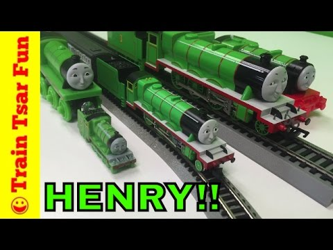 Henry the Green Engine  N SCALE! New to my train collection! Tomix