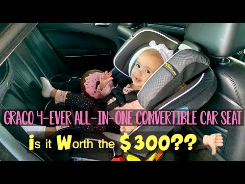 Is the Graco 4-Ever All-In-One Convertible Car Seat worth the $300?? | Honest review 2019 |