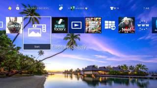 Bora Bora Beach Theme PS4 HD