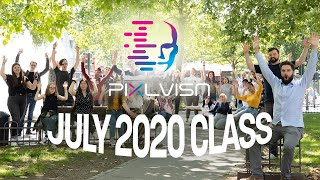 PIXL VISN Course Start July 2020 - First Day With Our New July 2020 Class