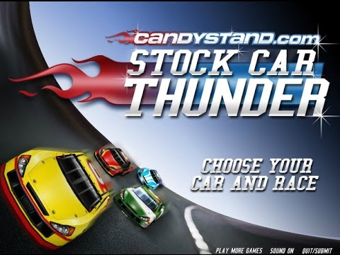 Play Stock Car Thunder Racing Games Online Free
