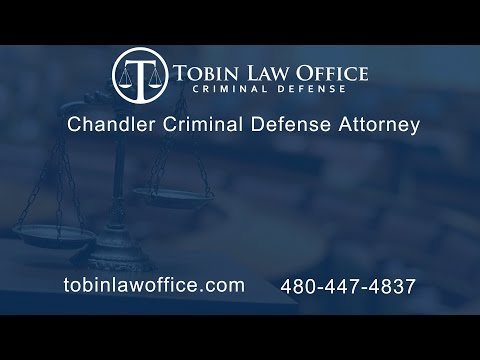 Chandler Criminal Defense Attorney Tim Tobin