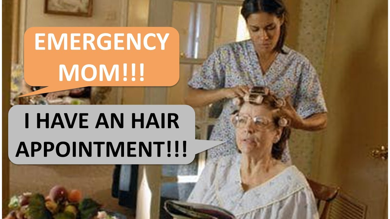 Mother in Law chose her hair over her grandchild in a medical emergency!